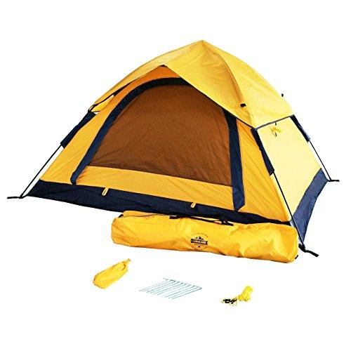 Lumaland Outdoor Leichtes Pop Up Wurfzelt 3 Personen Zelt Camping